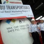 Pertamina Operasikan SPBU Transportable