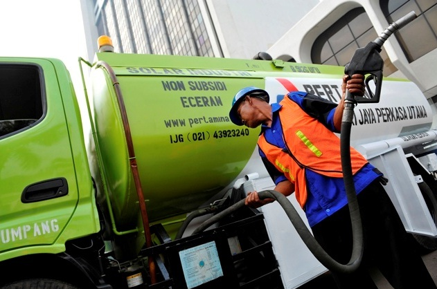 Pertamina Luncurkan SPBU Mobile Non Subsidi