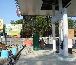 SPBU Pertamina di Jatinegara Tegal Jawa Tengah